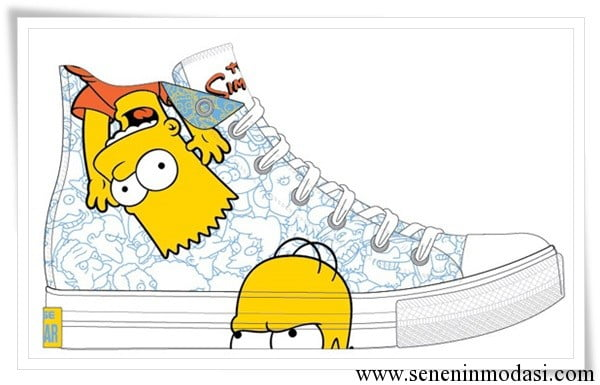 converse-the-simpsons serisi