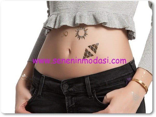 oryantal motifli flash tattoo