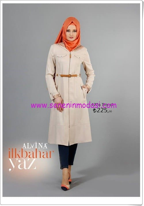Alvina 2016 spring-summer trench models